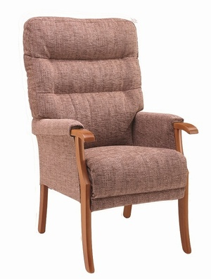 Orwell High Back Arm Chair - Various Colours Chairs > Arm Chair