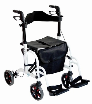 Diamond Deluxe Rollator/Transport Chair Walking Aids > Rollators