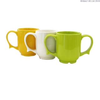 Two Handled Dignity Mug Eating & Drinking Assistance > Beakers & Cups