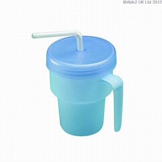 Spill Proof Kennedy Cup Eating & Drinking Assistance > Beakers & Cups