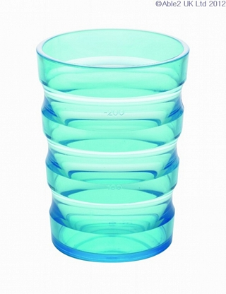 Sure Grip - Non Spill Cup - Various Colours Eating & Drinking Assistance > Beakers & Cups