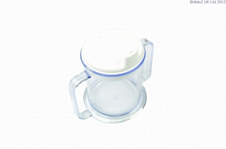 Two Handled Mug & Lid Eating & Drinking Assistance > Beakers & Cups