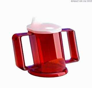 Handy Cup with Lid - Various Colours Eating & Drinking Assistance > Beakers & Cups