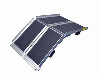 Folding Suitcase Ramp - 4ft Ramps & Steps