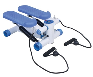 Mini-Stepper with LED Display and Training Ropes Rehabilitation & Exercise