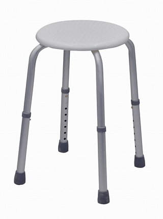 Round Adjustable Shower Stool Around the Home > Bath & Shower Seats