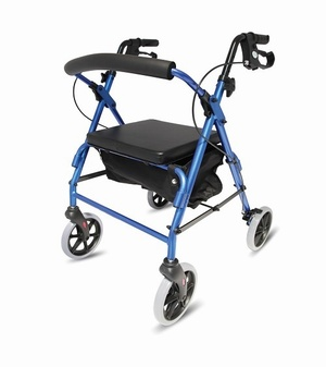 Folding Lightweight Aluminium Rollator Walking Aids > Rollators