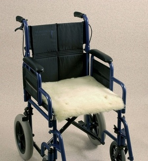 Wheelchair Fleece Seat Cover Patient Care > Pressure Care & Comfort