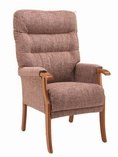 Orwell High Back Arm Chair - Various Colours