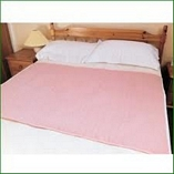Washable Premium Double Bed Pad Pink 90cmX165cm