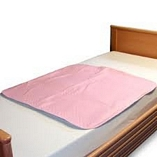 Washable Premium Bed Pad Pink 85cmX90cm
