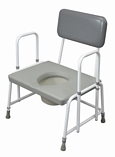 Dorset Devon and Suffolk Bariatric Commodes - Detachable Arms