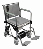 Linton Lift-Assist Mobile Commode