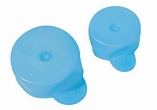 Tenura Antimicrobial Cup Caps - Set of 2