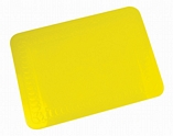 Tenura Silicone Rubber Anti Slip Rectangular Mat 25.5x18.5 cm - 3 Colours