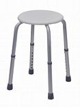 Round Adjustable Shower Stool