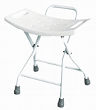 Fixed Height Folding Shower Chair