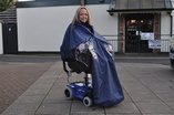 Powerchair Cape - Lined