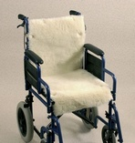 Wheelchair Fleece Seat & Back Cover