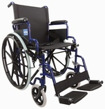 Self Propelled Steel Wheelchair