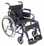 Deluxe Lightweight Self Propelled Aluminium Wheelchair